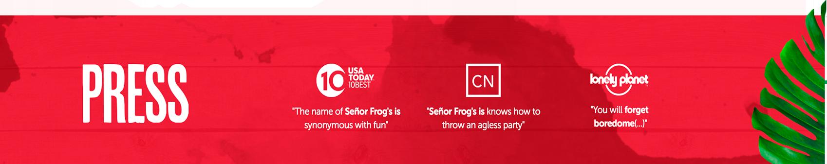 Señor Frog's | Grupo Anderson's